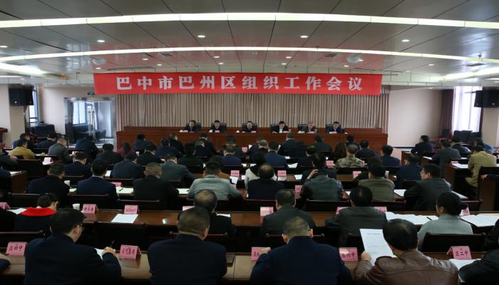 全区组织工作会议召开