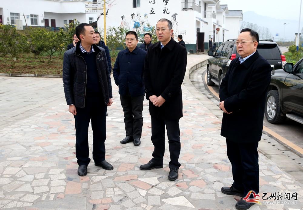市委常委陶斌来我区调研脱贫攻坚及重点项目建设工作