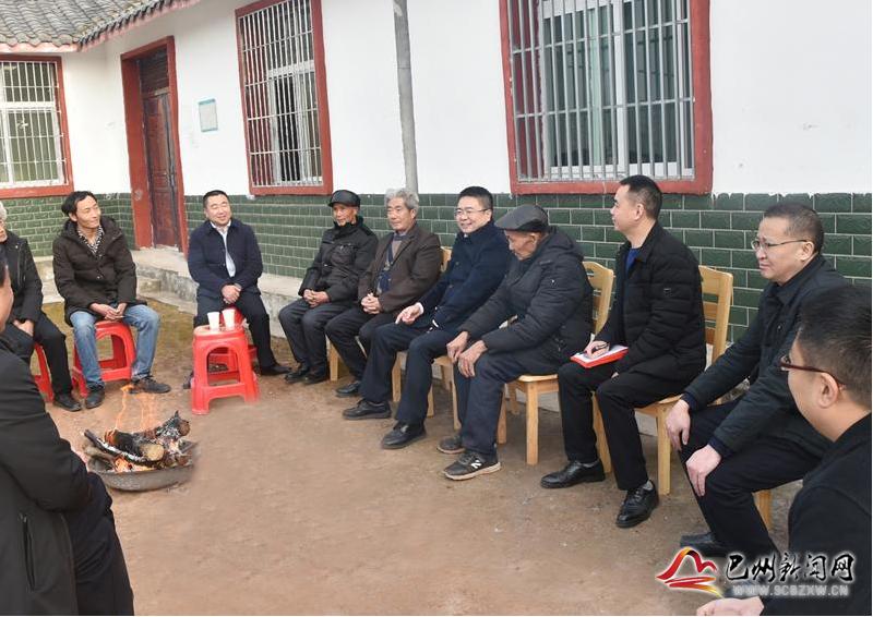 杨波到清江镇开展春节走访慰问活动