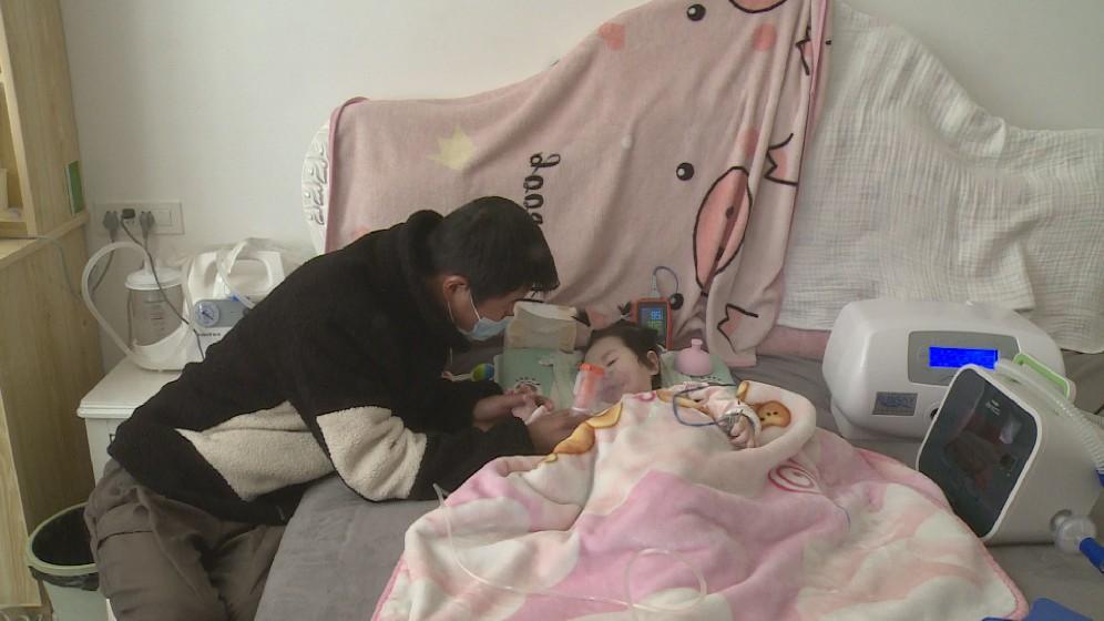 """枣林一女婴身患重病 区融媒组织爱心救助"""""""