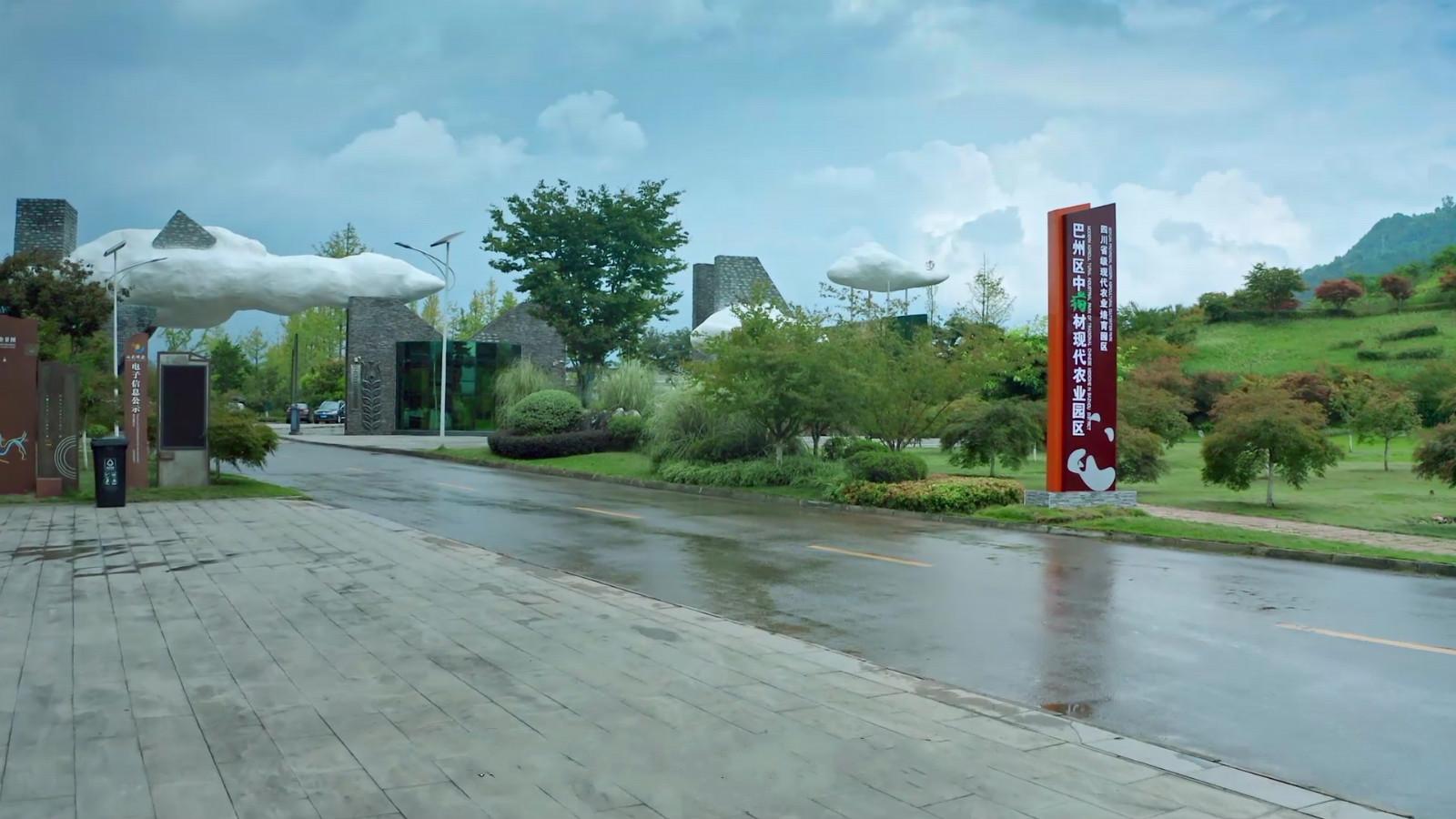 巴州区枳壳现代农业园被评为省三星级现代农业园区