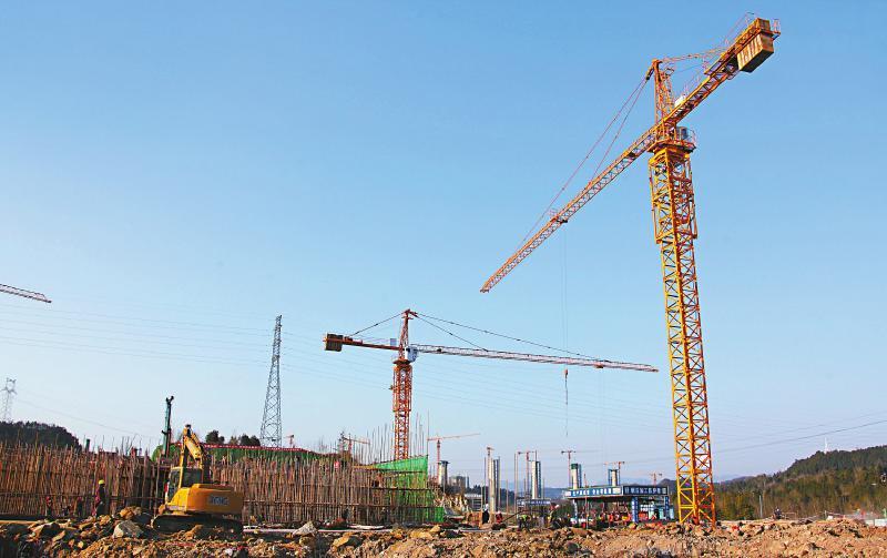 巴中临港产业园建设正酣 制造业组团预计下月底交付部分厂房