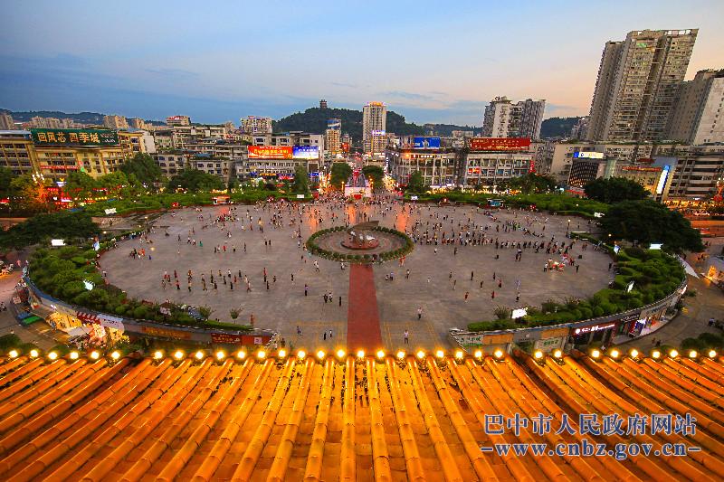 巴城的广场