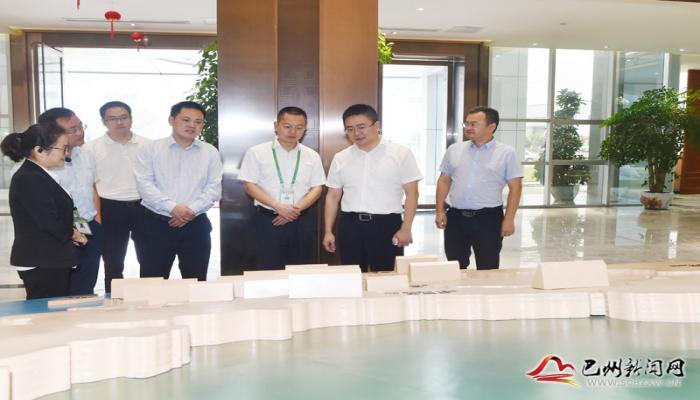杨波在蓉开展投资促进活动