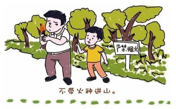 森林防火,这些你都要做好!莫要失火!
