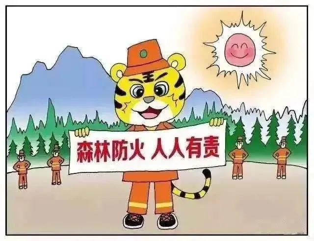 森林防火丨圖解森林防火小知識,一起來學習!